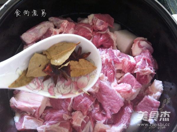 牛腩炖萝卜怎么炒