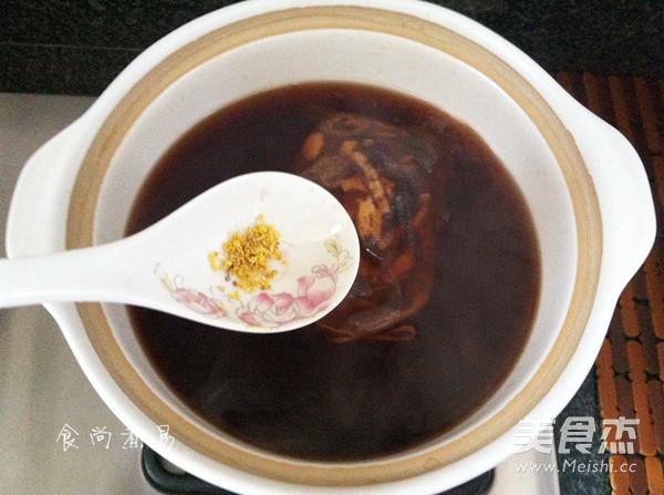 桂花酸梅汤怎么煮