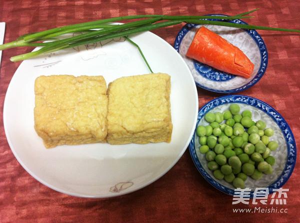 微波炉豌豆烩豆腐的做法大全