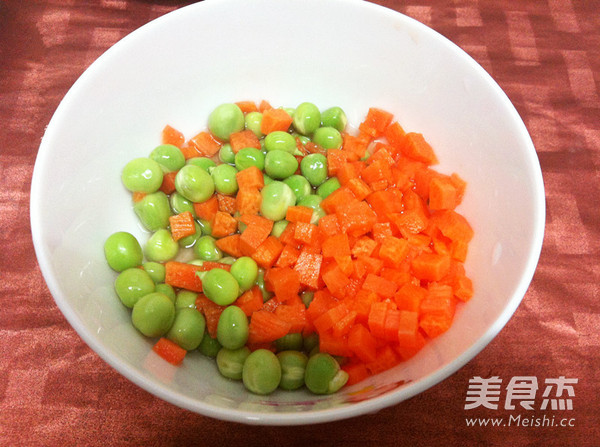 微波炉豌豆烩豆腐的家常做法