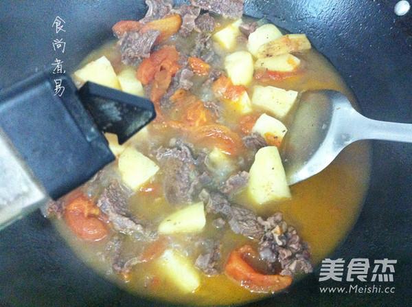 番茄土豆炖牛腩怎样煮