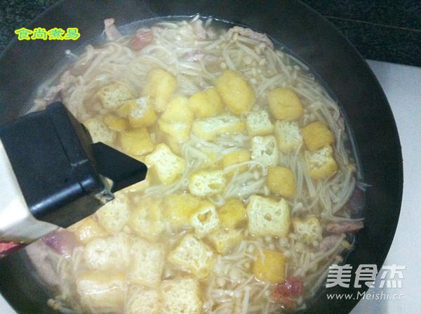 上汤金针菇怎样煮