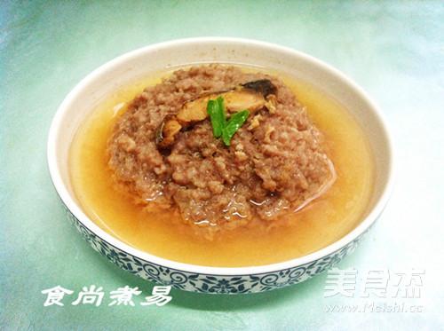 梅香咸鱼蒸肉饼成品图