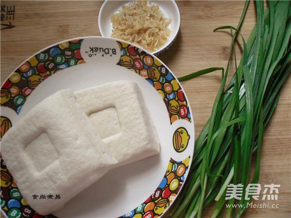 韭菜虾皮烧豆腐的做法大全