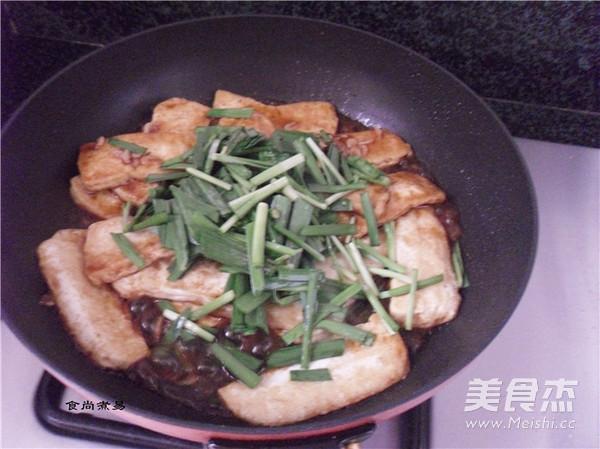韭菜虾皮烧豆腐怎么煮