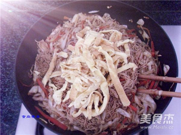 包菜炒粉丝怎样煮