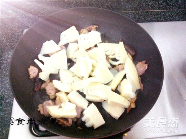 肉片炒双冬怎么吃