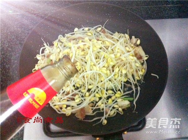 肉末炒黄豆芽怎么炒