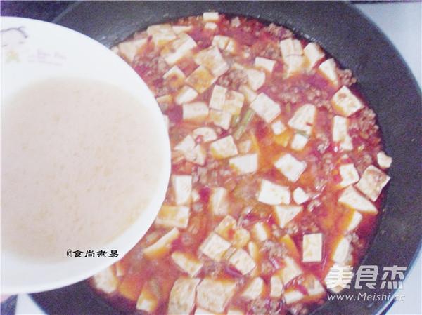 麻婆豆腐怎样炒
