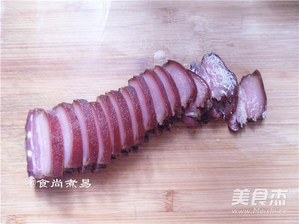 腊肉炒萝卜干怎么吃