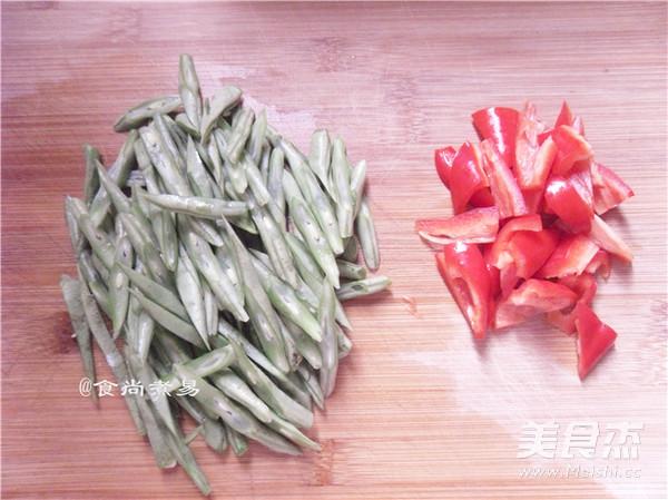 香干四季豆的家常做法