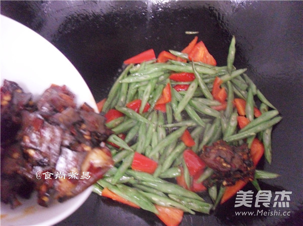 香干四季豆怎么炒