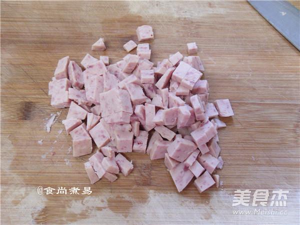 土豆午餐肉煎饼的家常做法