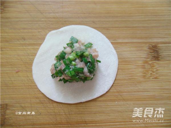 韭菜煎饺怎么炖