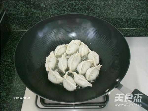 韭菜煎饺怎样煸
