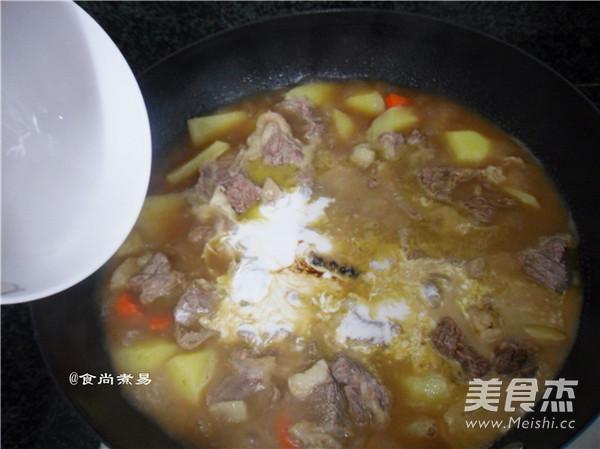咖喱椰香薯仔牛腩怎样煮