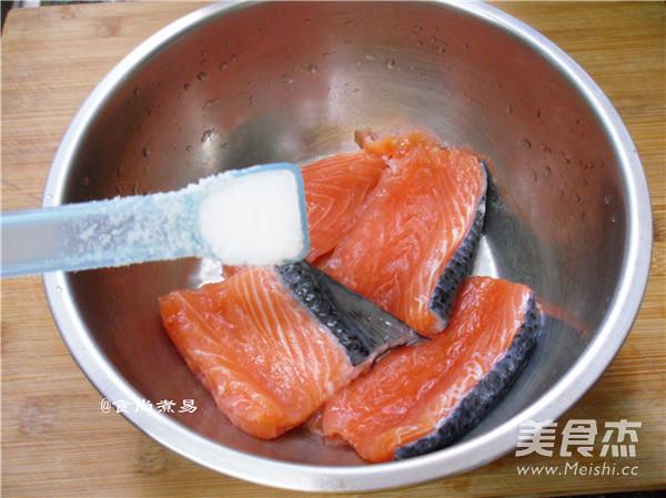 干煎三文鱼的做法图解