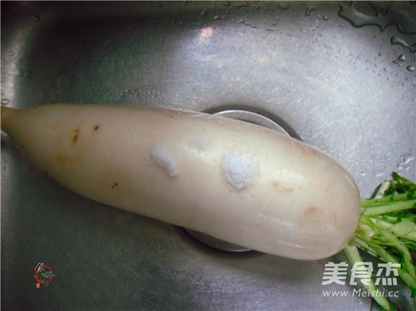 泡椒腌萝卜的做法图解