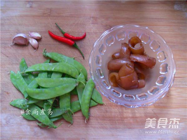猪皮荷兰豆的做法大全