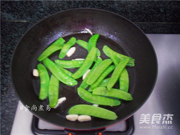 猪皮荷兰豆的简单做法
