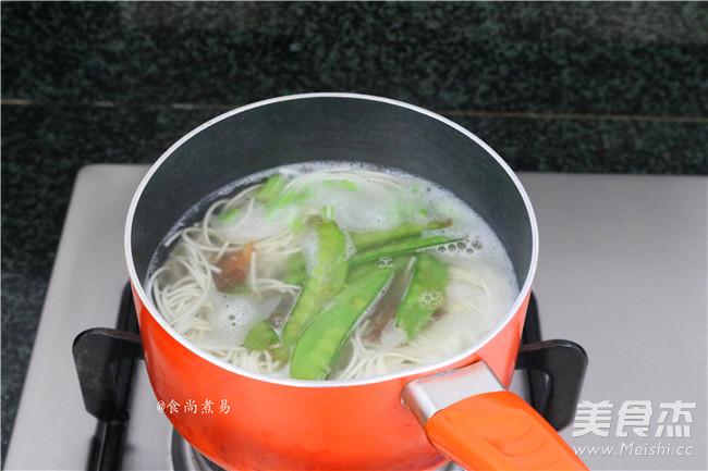 清汤面怎么炒