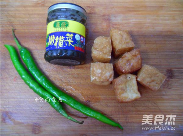 橄榄菜豆腐泡的做法大全