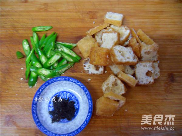 橄榄菜豆腐泡的做法图解
