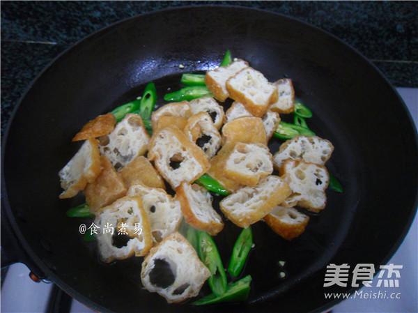 橄榄菜豆腐泡的简单做法