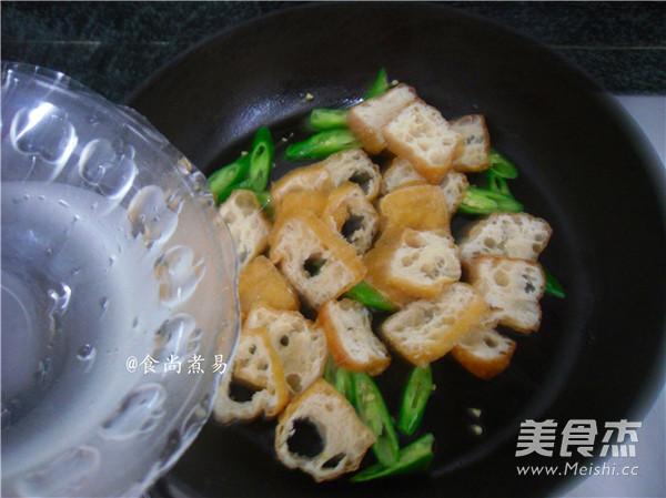 橄榄菜豆腐泡怎么吃