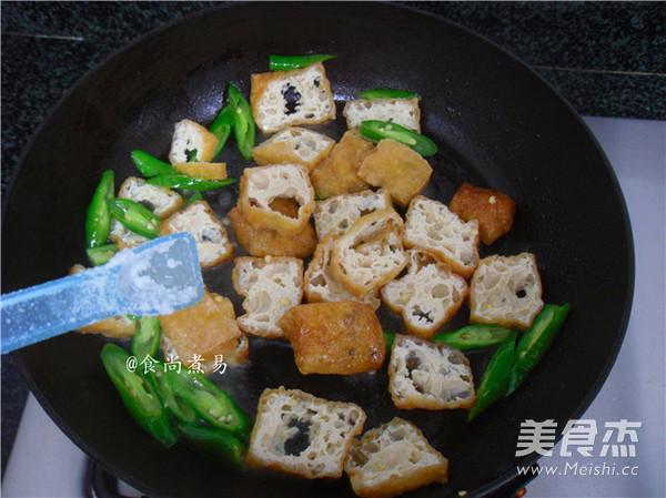 橄榄菜豆腐泡怎么做