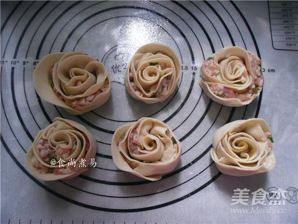 玫瑰花煎饺怎样炖