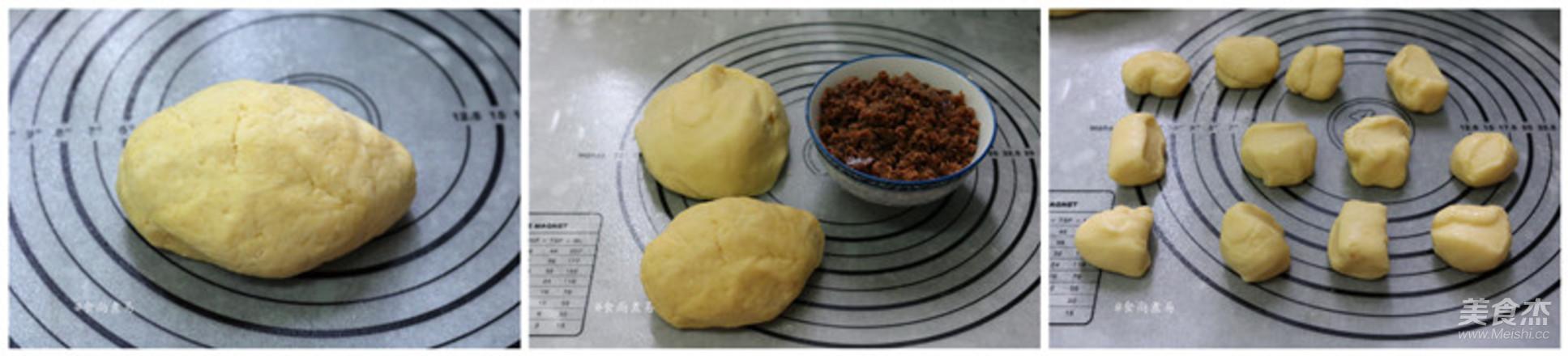 麻糬绿豆酥的做法图解