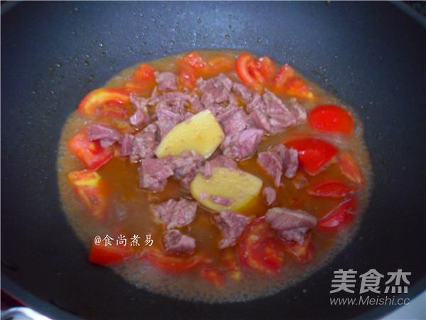番茄炖牛肉怎么煮