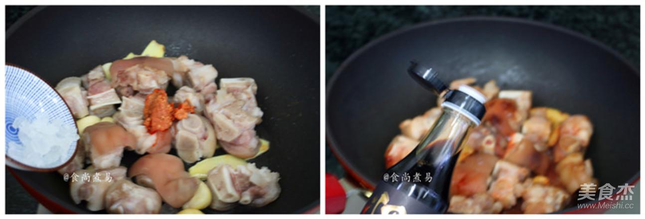 鹌鹑蛋焖猪手怎么吃