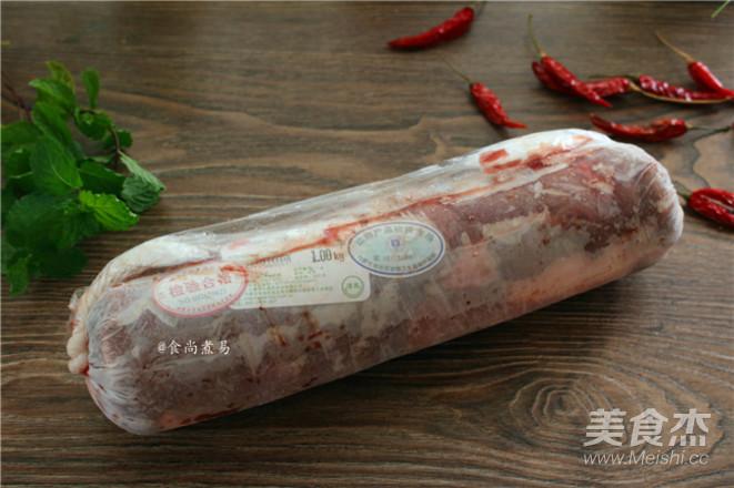 香辣薄荷羊肉的做法大全