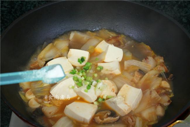 五花肉豆腐白菜煲怎么煸