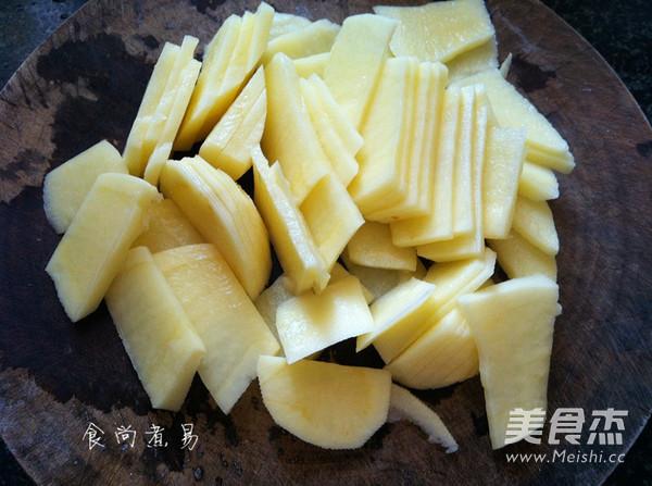 清炒土豆片的简单做法
