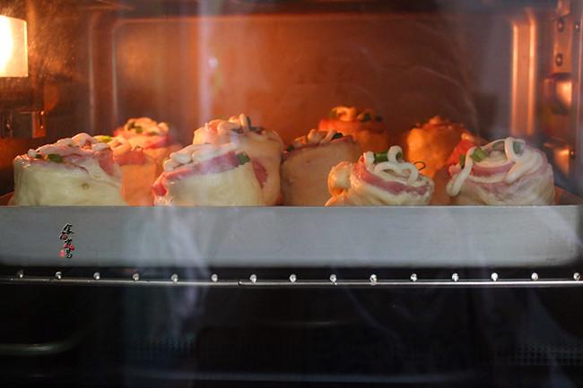 芝士培根面包卷怎样煮