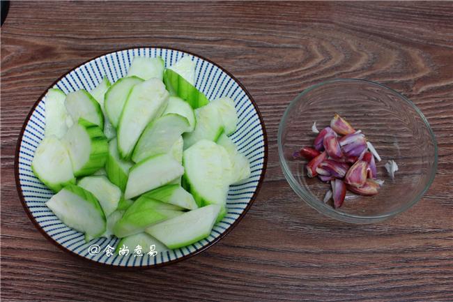 虾皮煮水瓜的做法图解