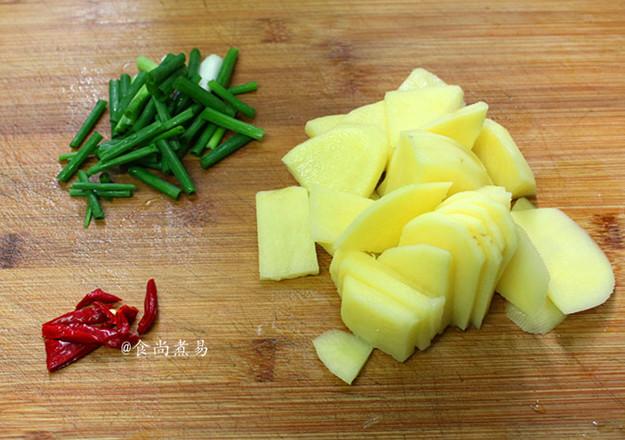 肉香土豆焖豆腐的做法图解