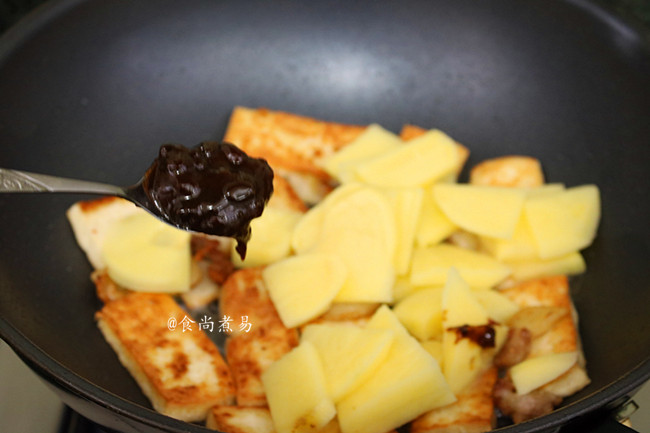 肉香土豆焖豆腐怎么吃