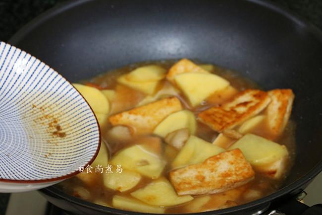 肉香土豆焖豆腐怎么做
