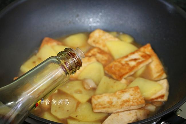肉香土豆焖豆腐怎么炒