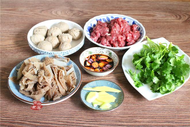 牛杂火锅的简单做法