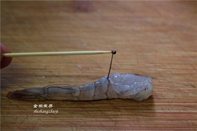 凤尾虾球的做法图解