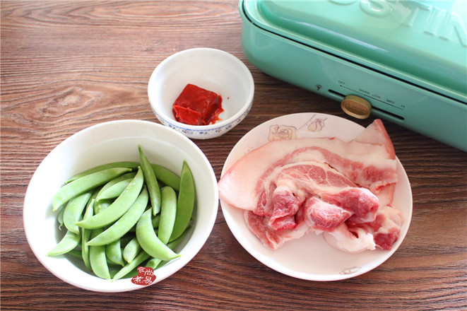 甜豆南乳五花肉的做法大全