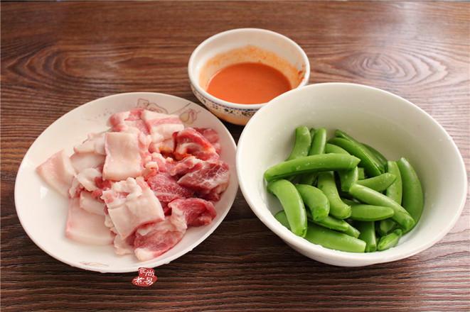 甜豆南乳五花肉的做法图解