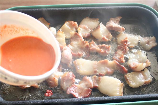 甜豆南乳五花肉的简单做法