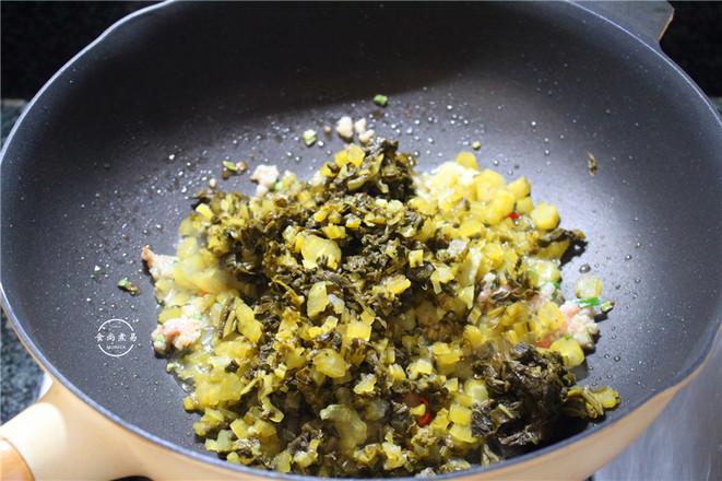 酸菜面条的简单做法