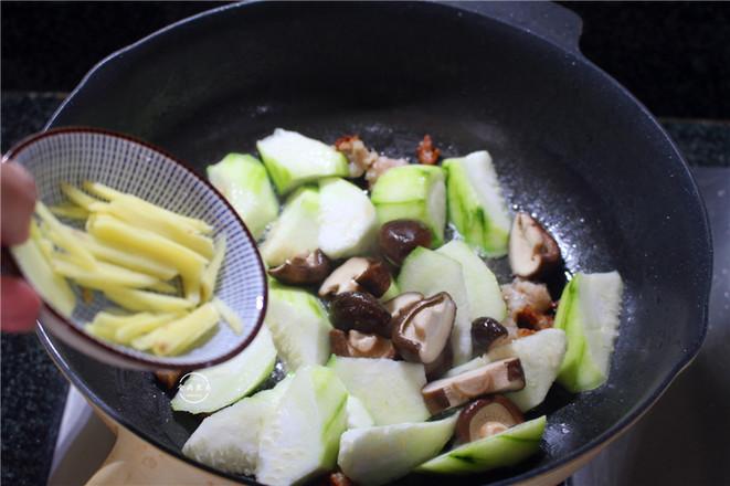 丝瓜瘦肉冬菇汤怎么吃